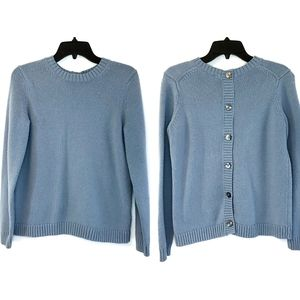 J. Jill Button Back Sweater